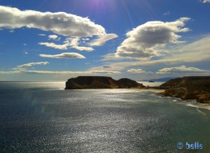 View to Playa La Carolina - Águlas - Murcia – Spain