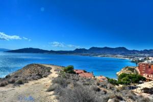 View from the Castello to San Juan de los Terreros