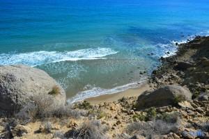 Kleine Bucht irgendwo zwischen Playa La Carolina und San Juan de los Terreros