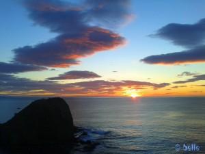 Sonnenaufgang in San Juan de los Terreros