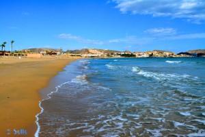 Strandspaziergang am Playa Mar Serena - San Juan de los Terreros