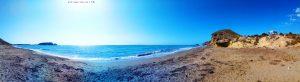 Parking at Playa de Las Palmeras - Spain - July 2020