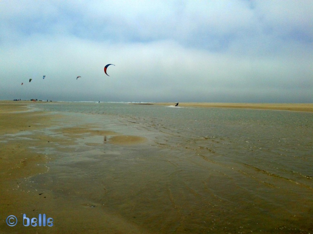Kitesurfer at the Playa de los Lances Sur – Tarifa