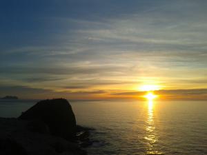 Sonnenaufgang am 01. März 2015 um 07:44 Uhr in San Juan de los Terreros