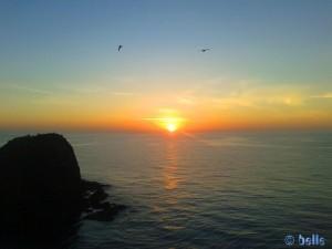 Sonnenaufgang in San Juan de los Terreros - Isla Negra – 03.März 2015 / 07:39 Uhr