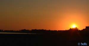 Sunset in Puerto Motril - March 12 2015 – 7.06PM