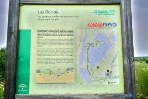 Las Doblas - Sanlúcar La Mayor - Corredor Verde del Río Guadiamar, Spanien