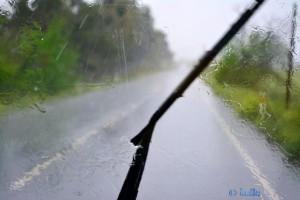 Irgendwo A-472, 1000, 21610 San Juan del Puerto, Huelva, Spanien – strömender Regen!