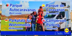 Lidl in Lagos, Portugal – Campers are welcome!