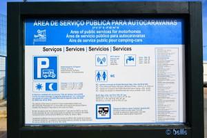 Área de Serviço Pública para Autocaravanas Lagos