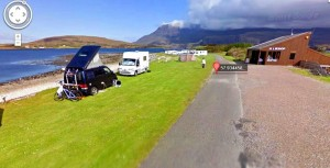 Camping at the Beach of  Ardmair – July 2012