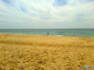 Praia da Boca do Rio – ein Bad bei 16°C