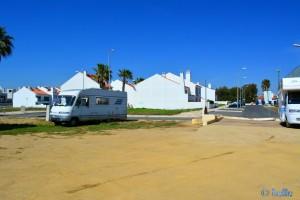 Parking in the Area Sosta Camper for free in Rua Francisco Albino 11, Porto Covo Portugal