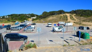 Parking at Lagoa de Albufeira – Mai 2015