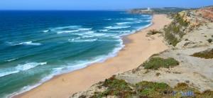 View to Praia do Porto Novo