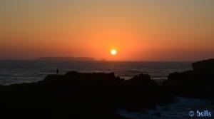 Sunset in Papoa – Peniche – Portugal