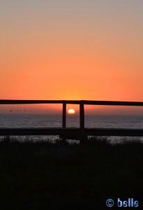 Sunset at Praia da Vieira - São Pedro de Moel, Portugal