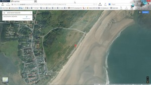 Parking at Alnmouth Bay – August 2012