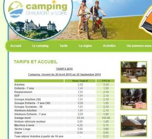Camping Chaumont-sur-Loire