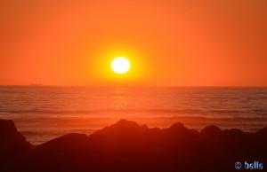 Sunset at Praia de Afife