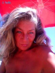 Ich beim Strandtesten in Praia de Afife – Portugal – it is HOT!