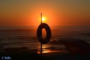 Es gibt aber auch noch ein Bild vom Sonnenuntergang heute! Sunset at Praia de Afife
