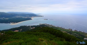 Rio Minho and the Atlantic - View from the Castro de Santa Trega