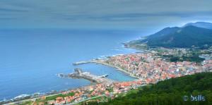 A Guarda - View from the Castro de Santa Trega