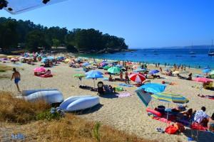 Besser besucht heute am Sonntag, 28. Juni 2015 - Cabo de Udra - Praia de Mourisca - Cabo Udra, Bueu, Pontevedra, Spanien