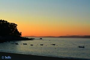 Sunset at Cabo de Udra - Praia de Mourisca