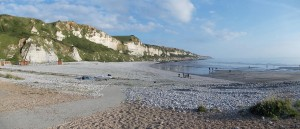 Beach of  Saint-Jouin-Bruneval