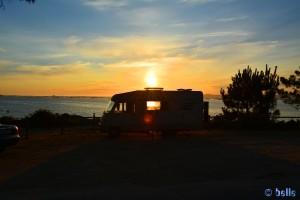 Sunset at Barrio Gandariña - Reboredo - Unnamed Rd, 36988 O Grove, Pontevedra, Spanien – nach dem Positionswechsel
