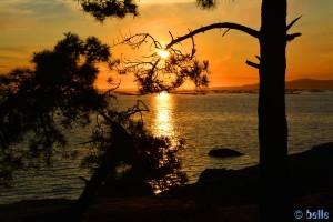 Sunset at Barrio Gandariña - Reboredo - Unnamed Rd, 36988 O Grove, Pontevedra, Spanien