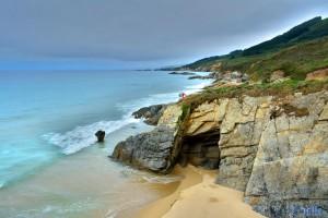 Praia de Rias - Castelos - Bicerran, 15111 Malpica de Bergantiños, La Coruña, Spanien