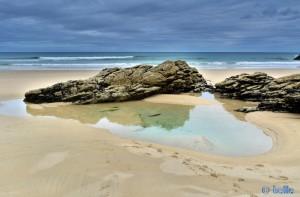 Little Piscina at Praia de Rias – Spain