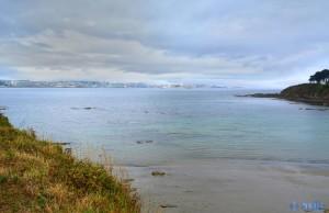 View to La Coruña, Spanien