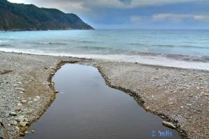 Río Uncín at Playa Choncha de Artedo - Asturias – Spain
