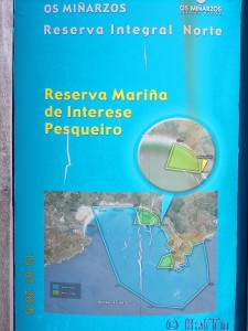 Praia de Carnota – Strand und Gewässer unter Naturschutz
