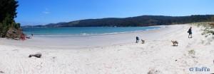Playa de Os Muiños - Rego de Moraime - Muxía - A Coruña – Spain – July 2015