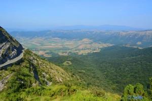 View from Monte Santiago - BU-556, 344, 09511, Burgos, Spanien