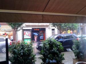 ...strömender Regen in Amposta