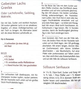 Rezept - Gebeizter Lachs – Gravlax