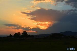 Sunset at Platja del Gurugú – Spain
