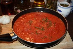Tomatensoße á la Baffo
