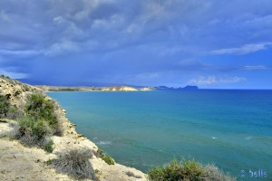 Fabelhafte Aussicht nach Playa de las Palmeras und Playa la Carolina
