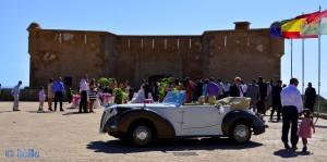 Der Kuss! Hochzeit am Castillo de San Juan de los Terreros – 10.10.2015