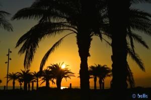 Sunset in Retamar