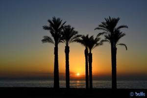 18.10.2015 – 08:28 am - Sunrising at Playa de las Salinas - Av Legión Española, 10, 04740 Roquetas de Mar, Almería, Spanien