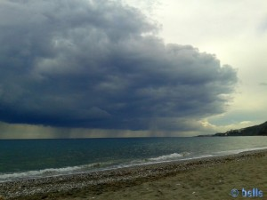 Gewitter am Playa el Playazo