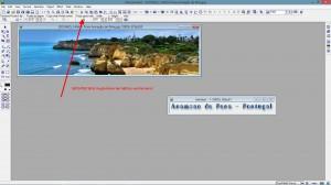 Banner auf die gewünschte Grösse verkleinern (870x220 Pixel für mich) – wichtig – wieder im gleichen Verhältnis verkleinern (Keep aspect ratio)!